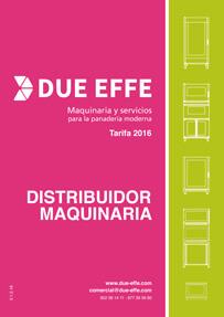 Catálogo Tarifa DUE EFFE 2016