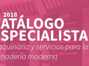 Nuevo catálogo especialista 2018